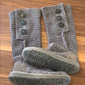 Ugg Classic Cardy - Gray - Size 5 (Fit like a 6)